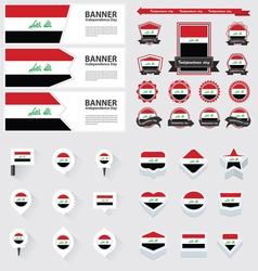 SET iraq vector image