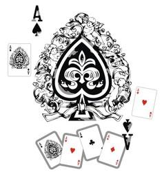Spade Ace vector