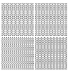 set seamless pattern guilloche ornament dense grid vector image
