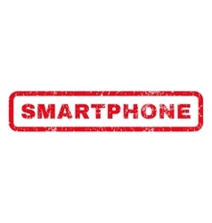 Smartphone Rubber Stamp vector image vector image