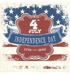 independence day poster design vector image vector image
