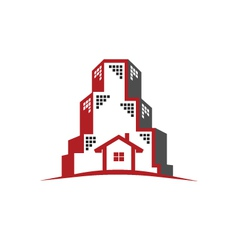Logo Real Estate concept vector image vector image