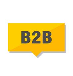 B2b price tag vector