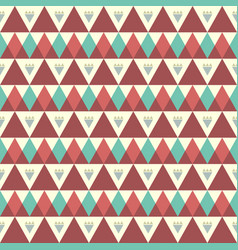 boho tile background vector image