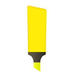 Felt pen icon cartoon style vector
