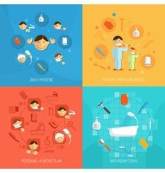 Hygiene Design Concept vector