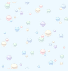 multicolor pearls pattern vector image