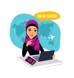 online booking banner air tickets online booking vector image