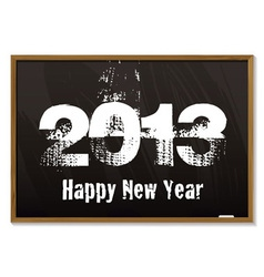 Blackboard 2013 vector image vector image