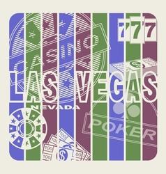 Las Vegas vector image vector image