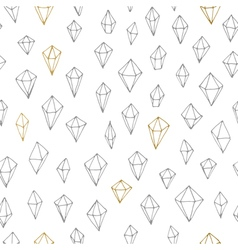 Seamless triangle pattern vector image