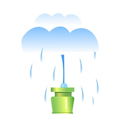 Icon sprinkler vector