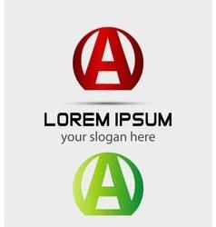 Letter A logo Creative concept icon vector image vector image