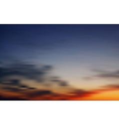 Abstract sky backdrop vector image