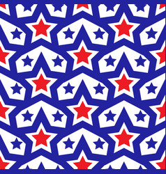american flag seamless patterns independence vector image