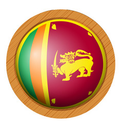 Icon design for flag of sri lanka vector