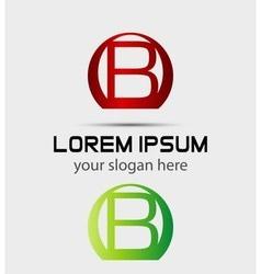 Letter B logo Creative concept icon vector image