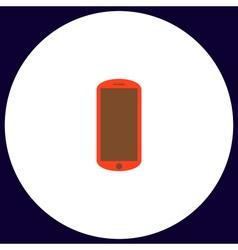Mobile computer symbol vector