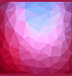multicolor purple pink polygonal which consist vector image