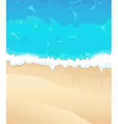 Ocean beach vector image