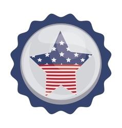 Usa seal stamp vector