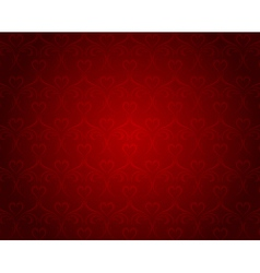 valentine hearts backgrounds vector image