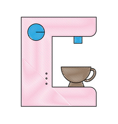 Coffe time design vector