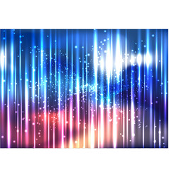 Abstract colorful space light effect background vector
