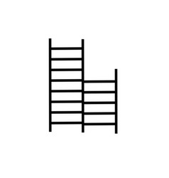 child ladders icon vector image