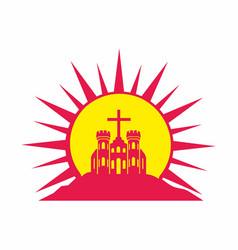 Church savior jesus christ vector
