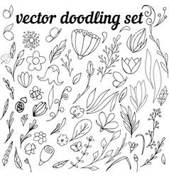 Doodling-set vector