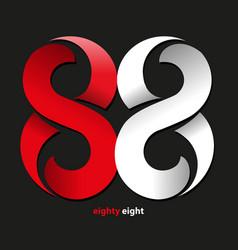 Eighty eight symbol vector