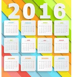 kalendar vector image