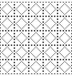 Modern stylish texture seamless pattern background vector image