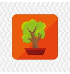 Plant office icon design vector