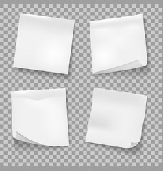 Post sticky notes vector