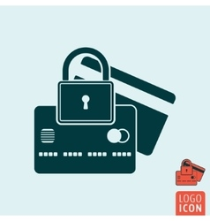 Secure icon isolated vector