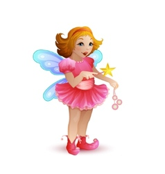 funny fairy vector image