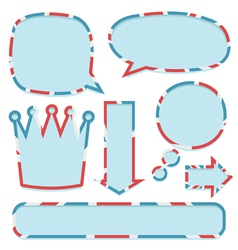 uk signs vector image vector image