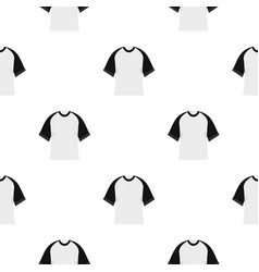 Baseball shirt pattern seamless vector