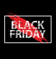 black friday sale black tag advertising round vector image