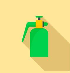 garden spray bottle icon flat style vector image