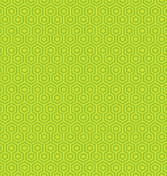Geometric hexagon seamless patterns vector