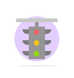 light sign station traffic train abstract circle vector image