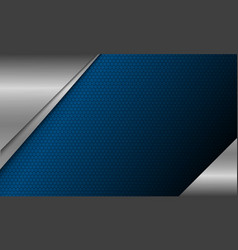 Modern background design metal with copy space vector