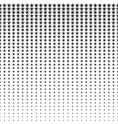 Stars Halftone Pattern vector