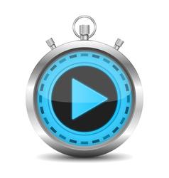 Stopwatch vector image vector image