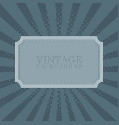 Vintage retro background with sample text vector