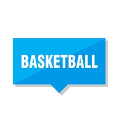 Basketball price tag vector