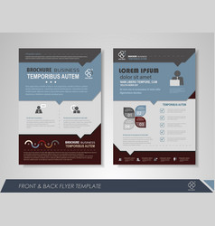 creative corporate brochures vector image